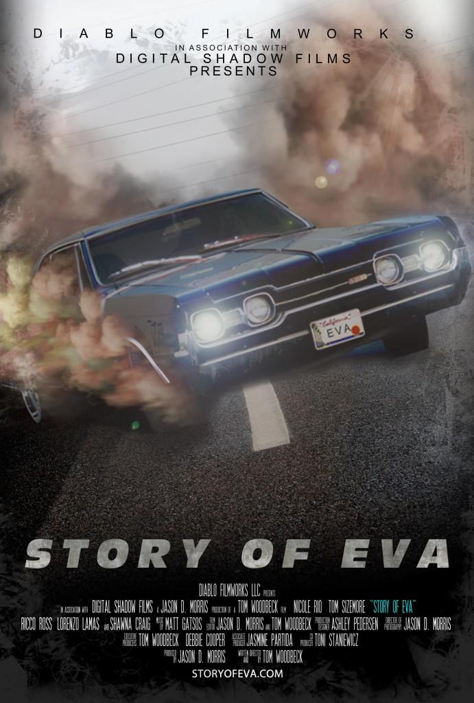 EVA POSTER CAR